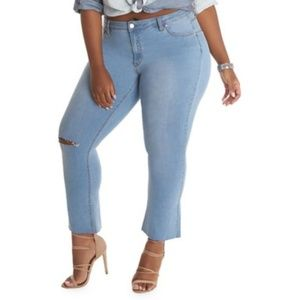 LA LA Anthony Jeans from Lord and Taylor's Size 18